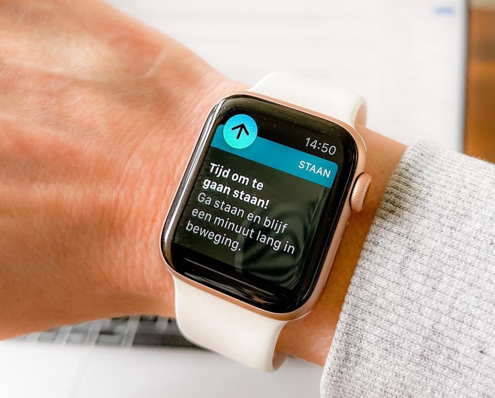 Apple Watch ga staan