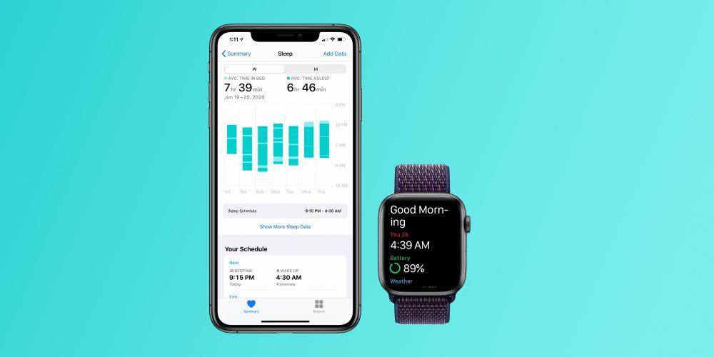 Slapen met de Apple Watch (sleep tracking)