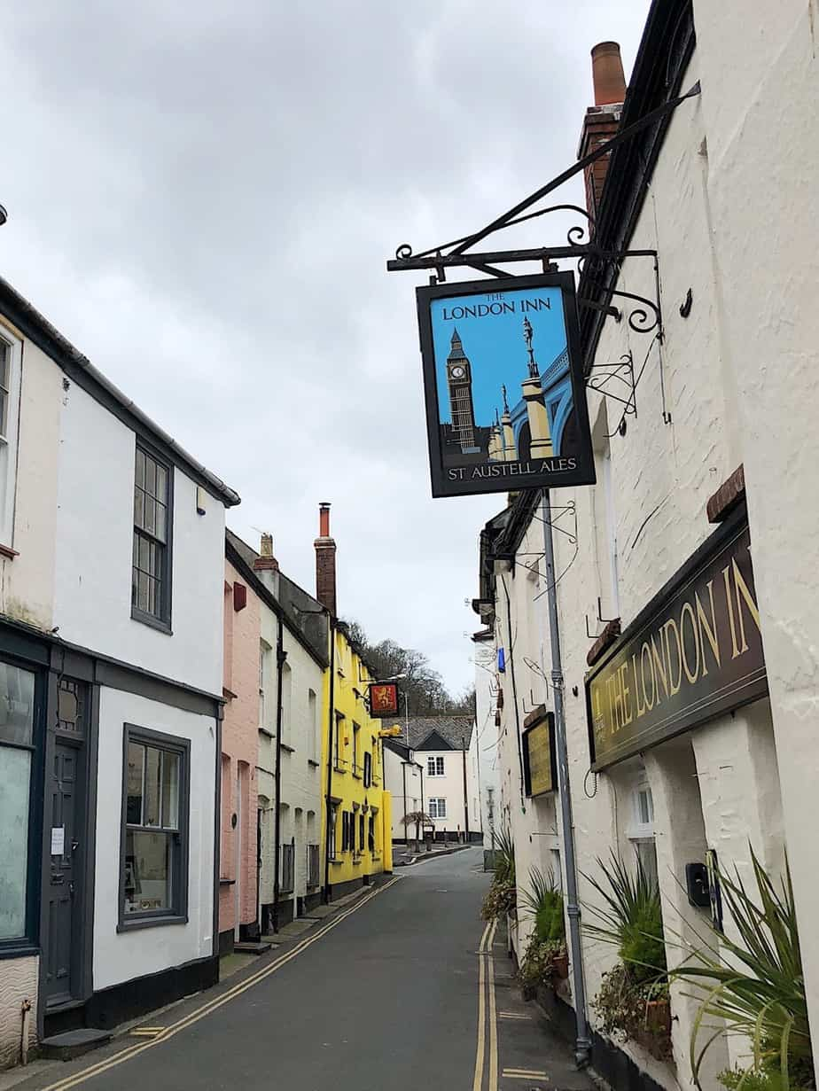dorpje in Cornwall