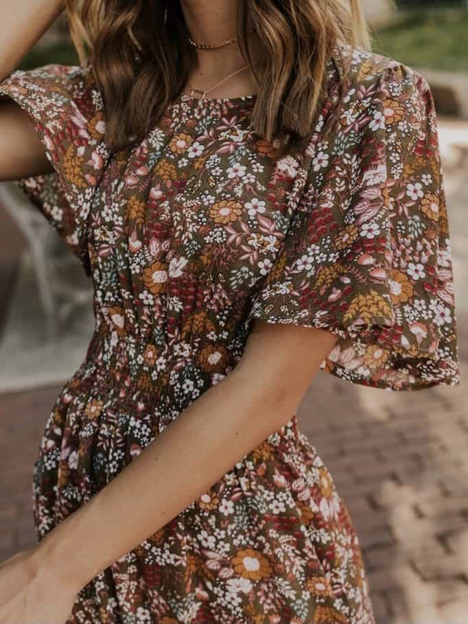 floral dresses trend
