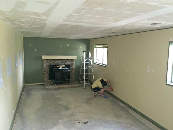 Ugly Family Room