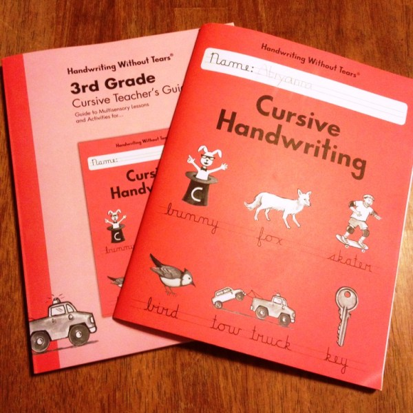 Handwriting Without Tears Review!!