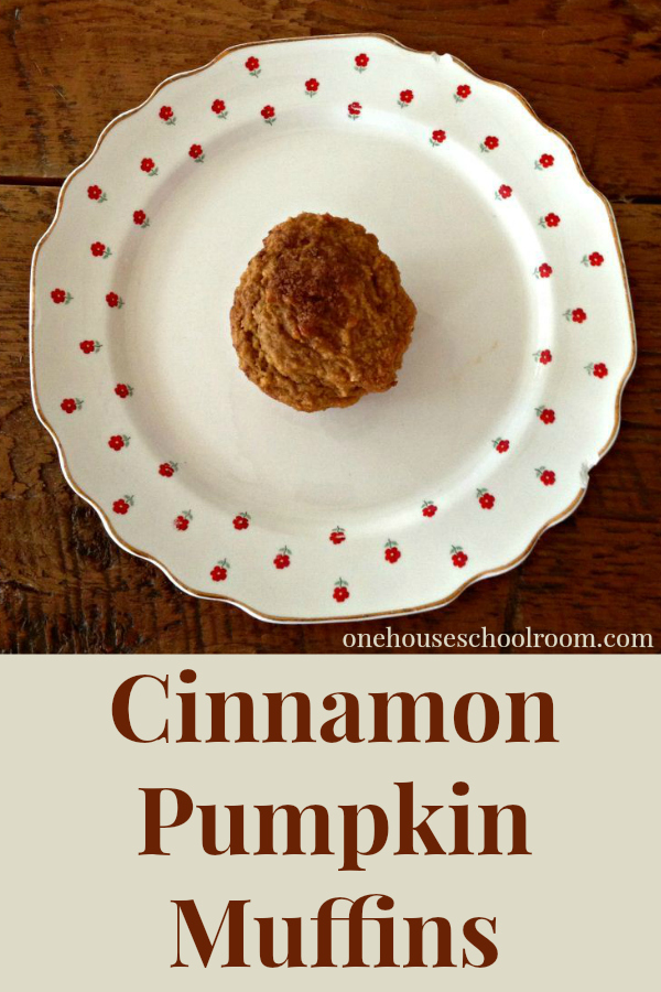 cinnamon pumpkin muffin