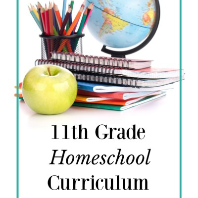 Homeschool Curriculum Choices- 11th Grade