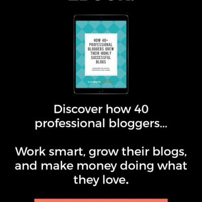 Free eBook- Advice from Blogging Pros