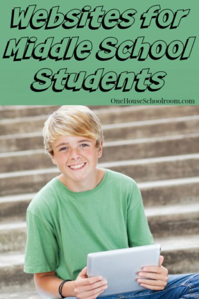 educational websites for middle school students