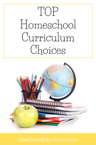 Top Homeschool Curriculum Choices