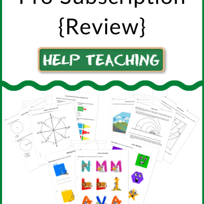 HelpTeaching.com Pro Subscription {Review}