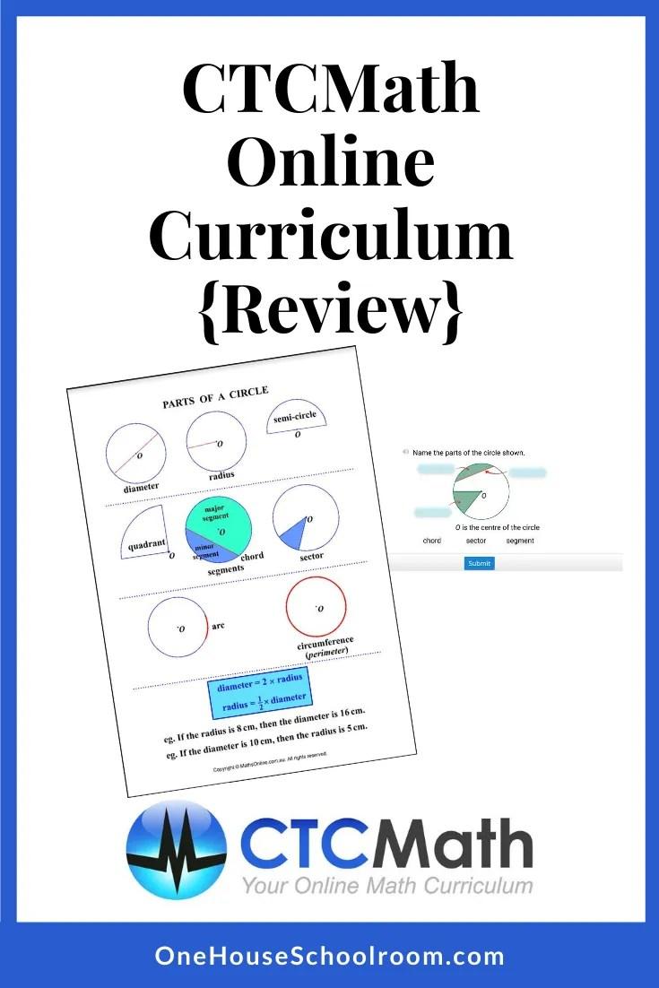 CTCMath Online Curriculum {Review}