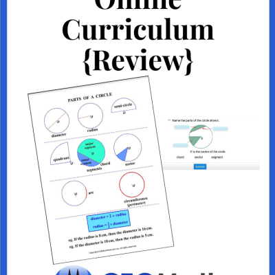 CTCMath Online Curriculum {Review}