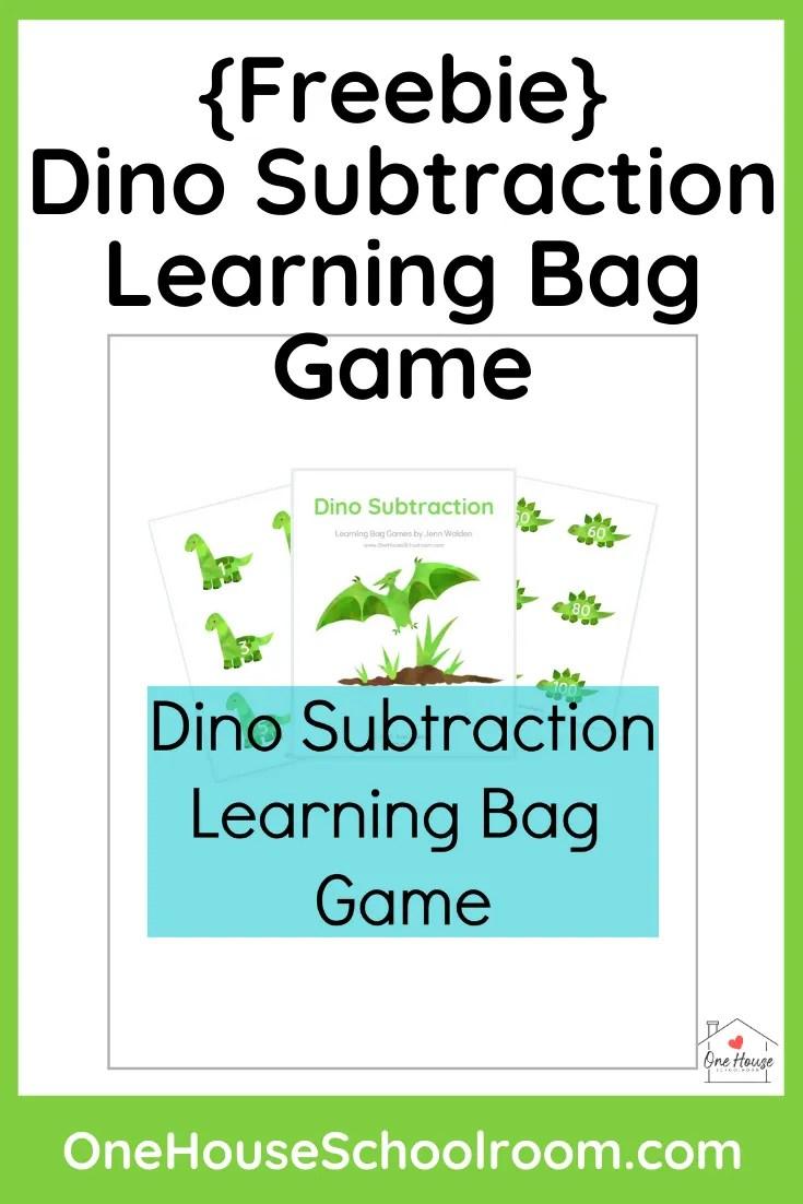 {Freebie} Dino Subtraction