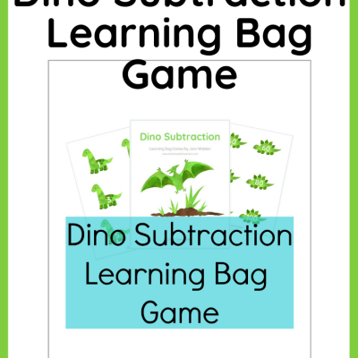 {Freebie} Dino Subtraction