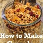 Recipe: How to Make Granola