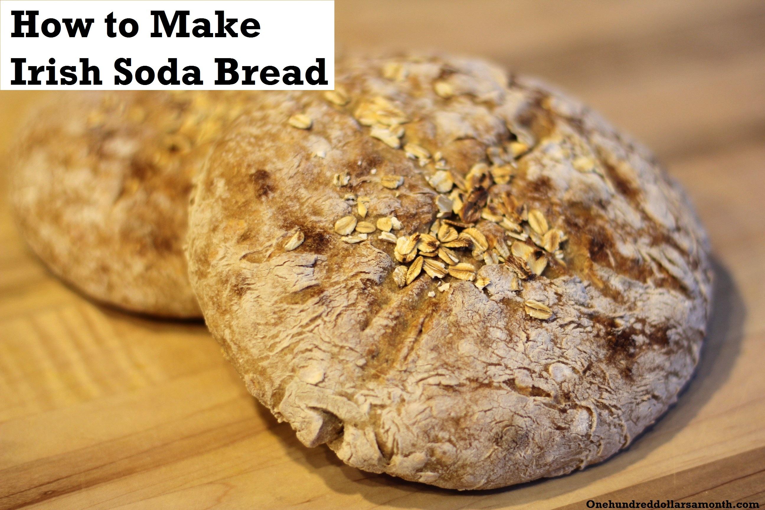 St. Patrick's Day Recipe: How To Make Irish Soda Bread ...