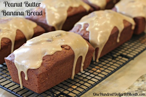 Easy Quick Bread Recipes  Peanut Butter - Banana Bread