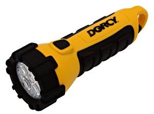 Carabineer Floating Waterproof Flashlight with Batteries