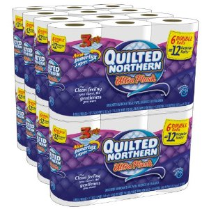 Quilted Northern Ultra Plush, Double Rolls