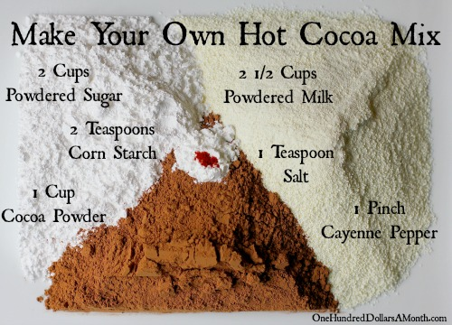 recipe hot cocoa mix