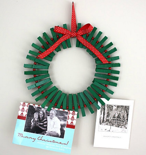 Easy christmas projects crafts for kids wreath