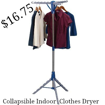 Collapsible Indoor Tripod Clothes Dryer