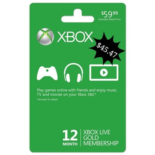 xbox live membership