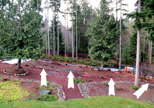 mavis garden - landscape fabric