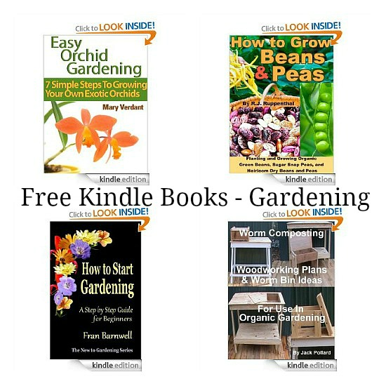 free kindle books gardening