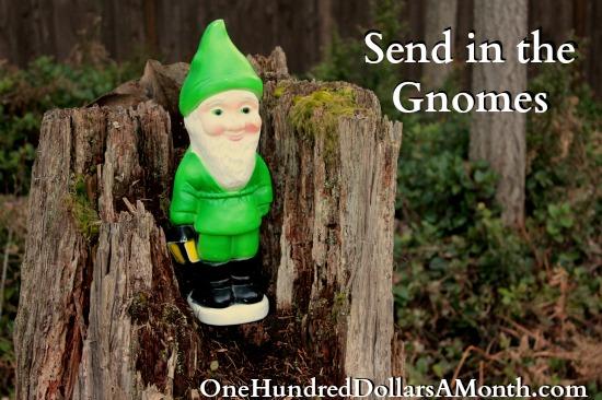 send in the gnomes mavis