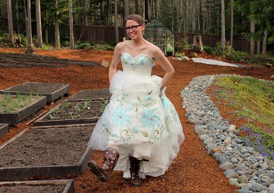 thrift store prom dress mavis - One Hundred Dollars a Month