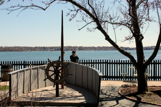 house of the 7 gables salem Massachusetts captains wheel