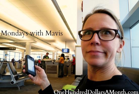 mavis one hundred dollars a month