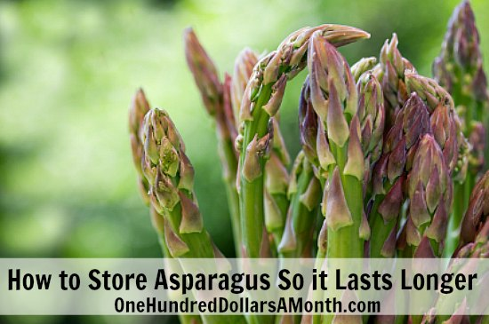 How to Store Asparagus So it Lasts Longer
