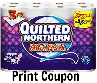 Quilted nothern ultra plush coupon