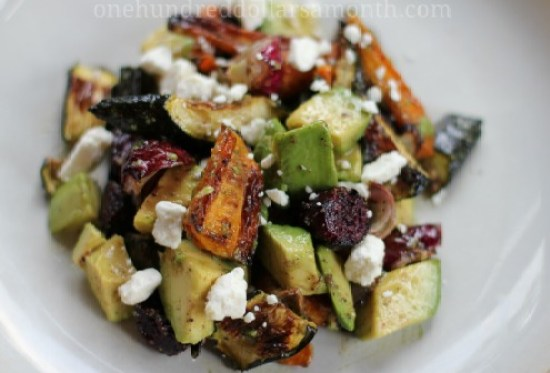 easy-summer-recipes-roasted-vegetable-salad1