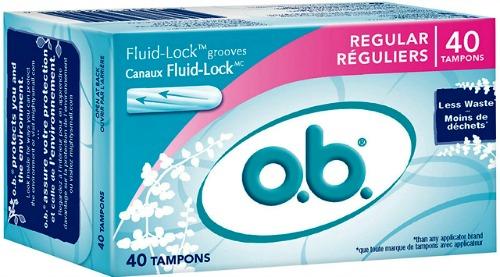o.b. tampon coupon