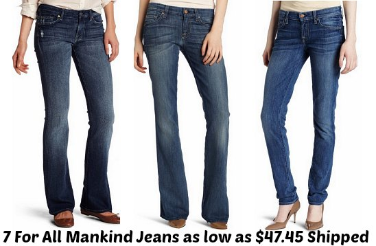 7 For All Mankind Jeans Coupon