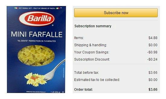 barilla pasta coupons