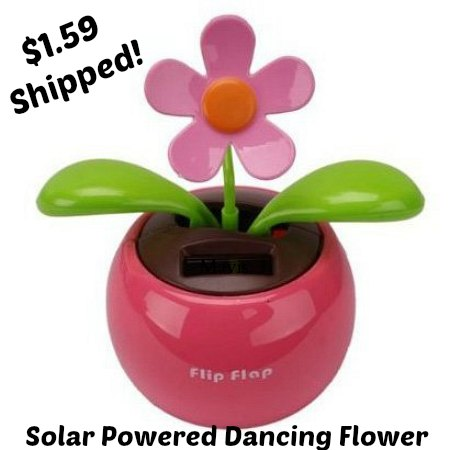 Solar Powered Dancing Flower-Pink