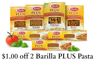 barilla plus pasta coupon