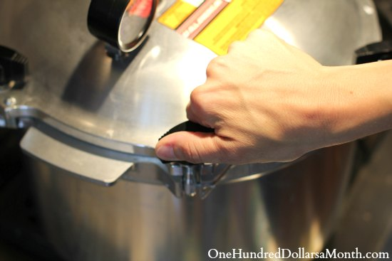 how to use a pressure canner
