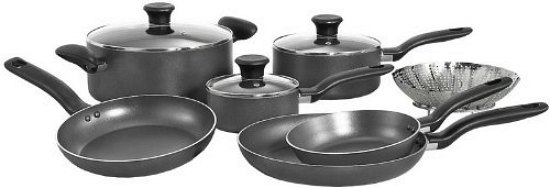 T-Fal 10-Piece Cookware Set