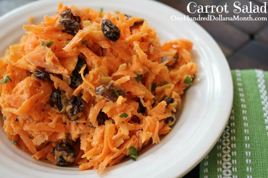 Carrot Salad Recipe