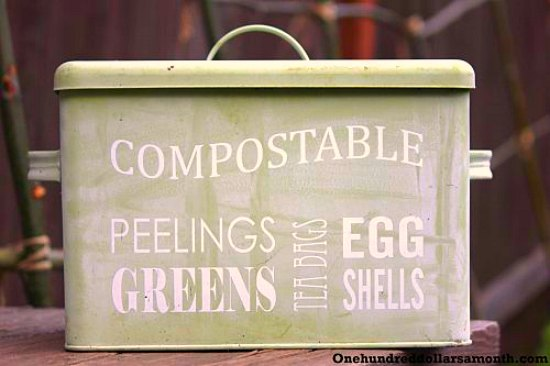 I Had A Reader Email The Other Day And Ask Where I Keep My Compost Bin.  Iu0027ve Always Kept Mine Under The Kitchen Sink In The Past But I Stumbled  Upon ...
