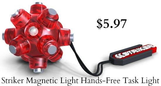 striker magnetic light