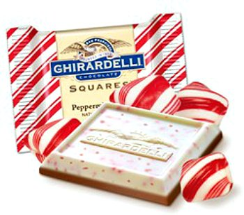 Ghirardelli Holiday Item 4oz or More peppermint-bark