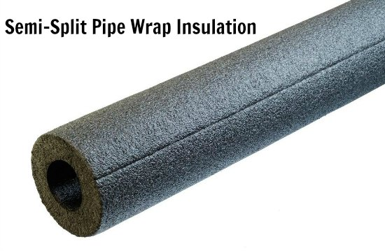 Semi-Split Pipe Wrap Insulation