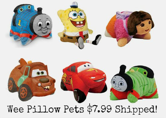 wee pillow pets