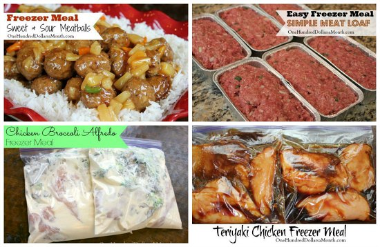 freezer meal recipes