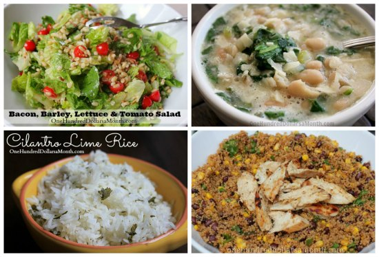 Weekly Meal Plan - Menu Plan Ideas Week 7 of 52 salad