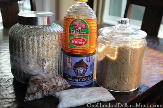 almond joy granola ingredients
